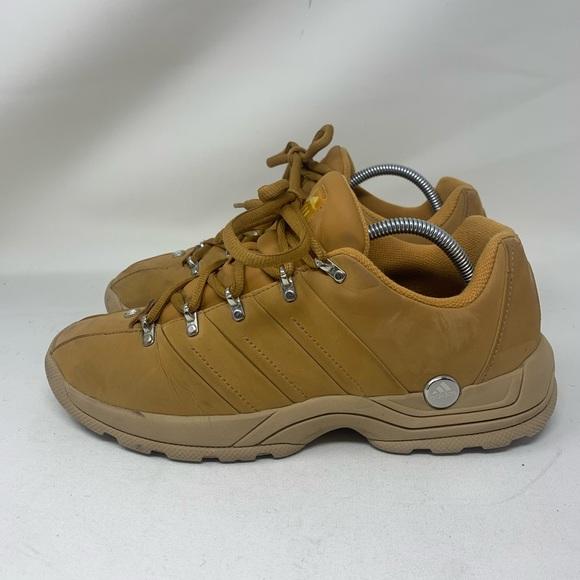 Adidas Vintage Men's Shoes 10 Tan Brown Sneakers